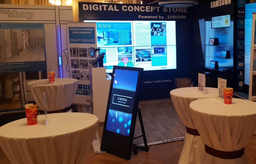 Digital Samsung concept store